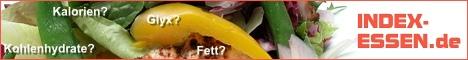 www.INDEX-ESSEN.de - Die große Tabelle mit allen Inhaltsstoffen - einfach besser essen